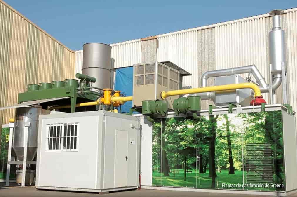 PLANTAS DE GASIFICACIÓN medio ambiente energía